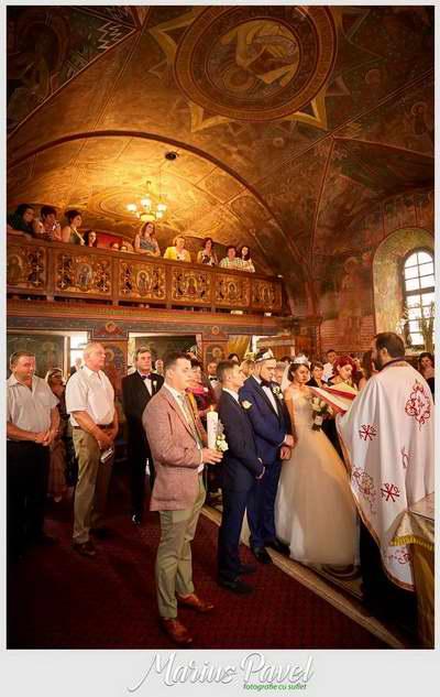 Foto ziua nuntii Sala Mare Cristian