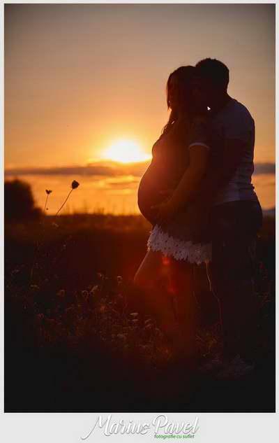 Fotografii inainte de a deveni mamica